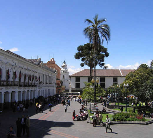 Tour December 25 / Thursday: Quito