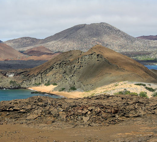 Tour TUESDAY. BARTOLOME ISLAND - SULLIVAN